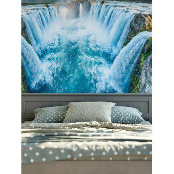Wall Hangings Waterfall Print Tapestry