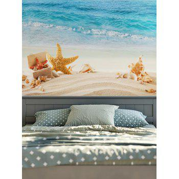Wall Hanging Beach Starfish Conch Tapestry