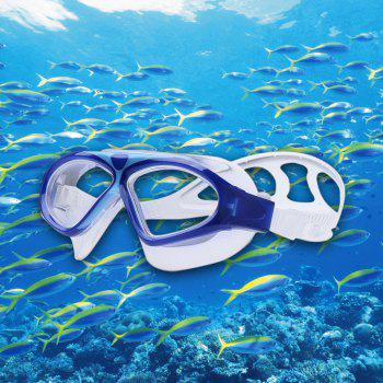 Adult Underwater Adjustable Swimming Goggles - DEEP BLUE DEEP BLUE