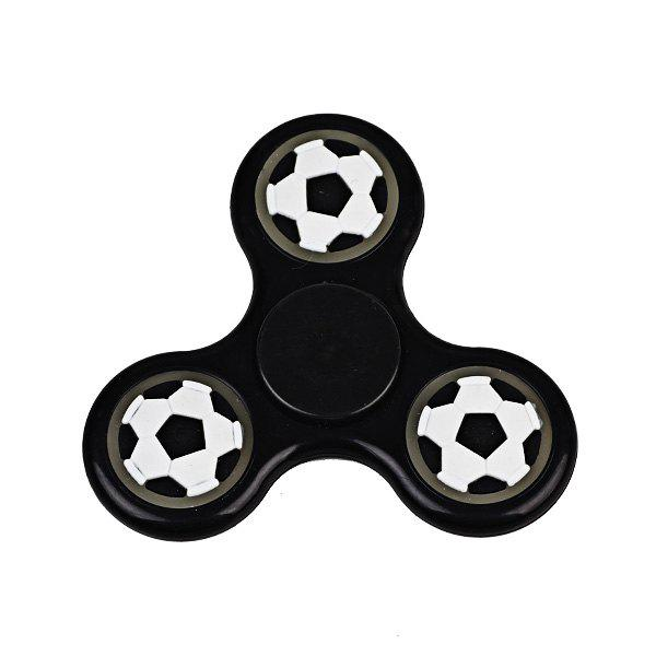 Glow in the dark Focus Toy Football Fidget Spinner - BLACK