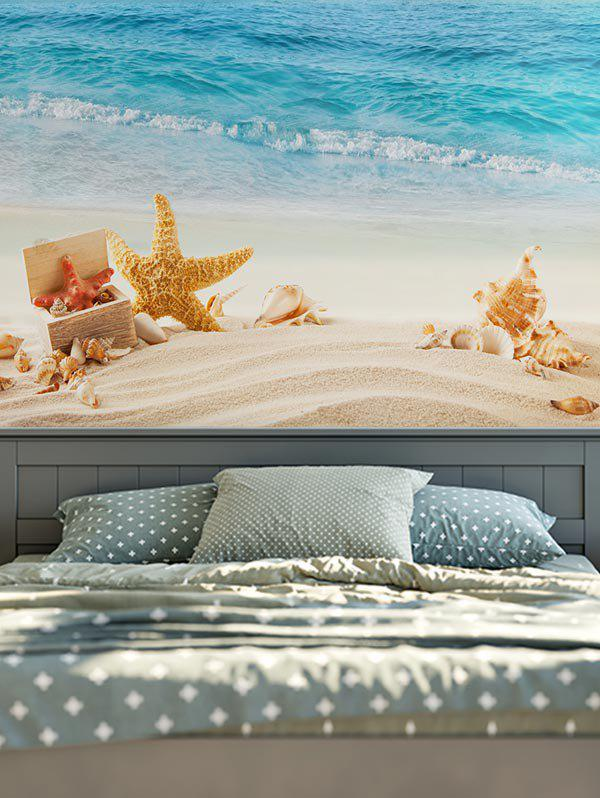 Wall Hanging Beach Starfish Conch Tapestry home decor wall hanging beach conch tapestry