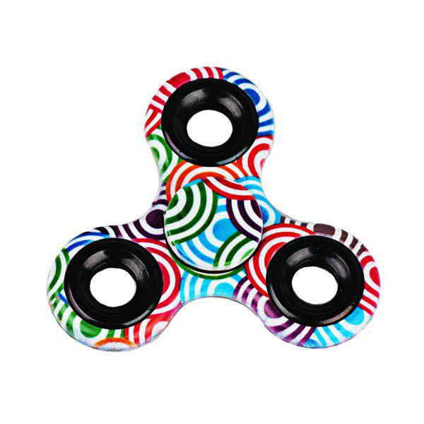 Stress Relief Toys Printed Hand Fidget Spinner - Vert