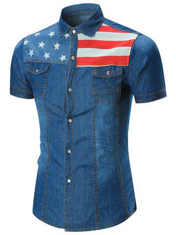 f3e308244e 2019 Denim Flag Shirt Best. Denim Supply Ralph Lauren Men ...