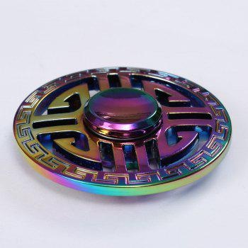 Colorful EDC Metal Hollow Out Fidget Spinner - COLORFUL 6.5*6.5*1.5CM