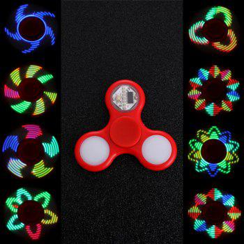 Anti Stress Reliever EDC Fidget Spinner with 16 Pattern LED Light