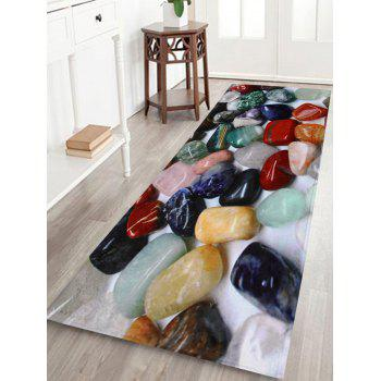 Colorful Stone Indoor Coral Velvet Area Rug