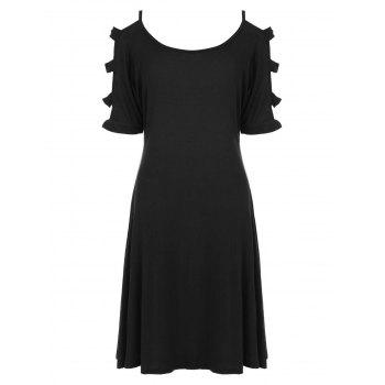 Cut Out Mini T-Shirt Dress