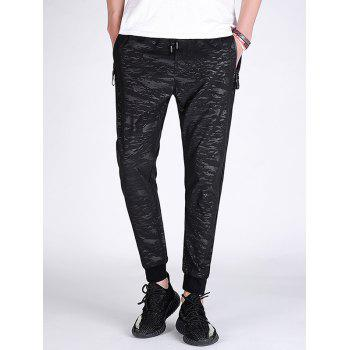 Zip Pocket Breathable Slim Jogger Pants