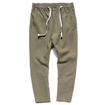 Muti-pocket Straight Leg Twill Casual Pants