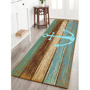 Deck Anchor Pattern Indoor Outdoor Area Rug