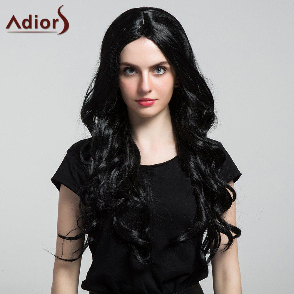 Adiors Long Center Part Thick Shaggy Wavy Synthetic Wig qfinance pocket dictionary of finance qfinance the ultimate resource