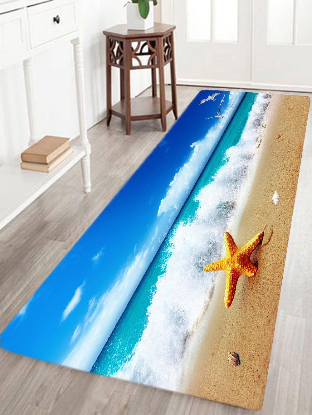 2018 tapis de plage de bord de mer bleu largeur pouces longueur pouces in tapis de bain online. Black Bedroom Furniture Sets. Home Design Ideas