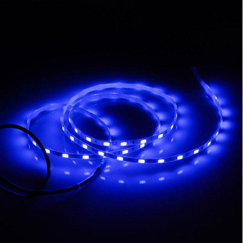 5V SMD 5730 Waterproof USB 1M 60 LEDs Strip Light - BLUE LIGHT