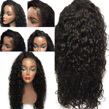 Lace Front Long Free Part Layered Shaggy Curly Synthetic Wig