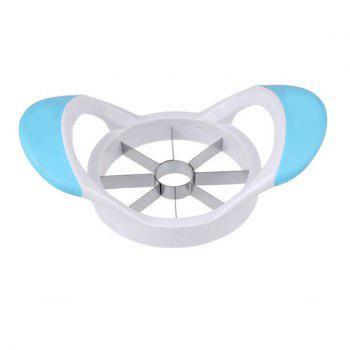 Stainless Steel Apple Cutter Tool Fruit Slicer - BLUE BLUE