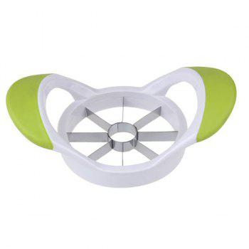 Stainless Steel Apple Cutter Tool Fruit Slicer - YELLOW GREEN YELLOW GREEN