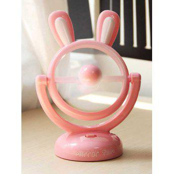 Portable Mini Table USB Cartoon Rabbit Fan
