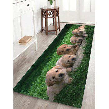 Coral Velvet Extra Long Puppy Pets Bathroom Rug