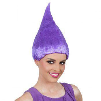 Flame Shaped Trolls Peluca Cosplay Wig