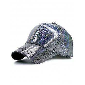 Sunscreen PU Shimmer Baseball Hat