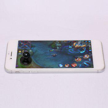 Apple Android Mobile Phone Touch Screen Sucker Physical Game Joystick -  BLACK