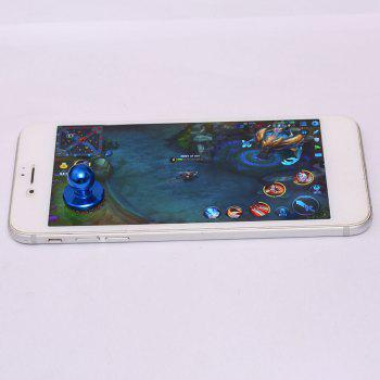 Apple Android Mobile Phone Touch Screen Sucker Physical Game Joystick -  BLUE