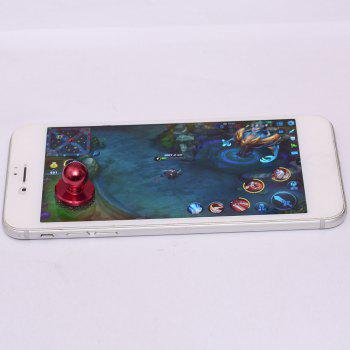 Apple Android Mobile Phone Touch Screen Sucker Physical Game Joystick -  RED
