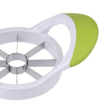 Stainless Steel Apple Cutter Tool Fruit Slicer -  YELLOW GREEN