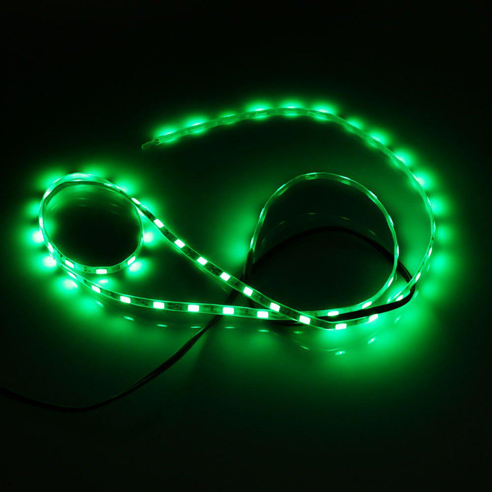 5V SMD 5730 imperméable USB 1M 60 LED Strip Light - Vert