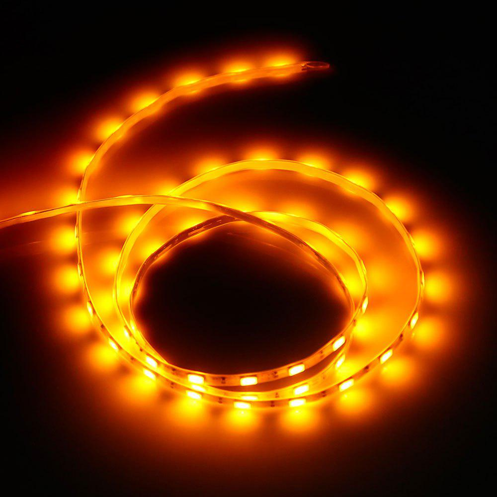 5V SMD 5730 imperméable USB 1M 60 LED Strip Light - Orange