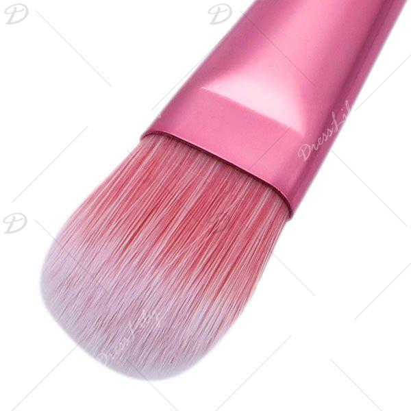 Ombre Honeycomb Shaped Handle Foundation Brush - multicolor