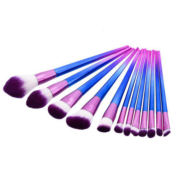 Ombre Makeup Brushes Set - Pourpre
