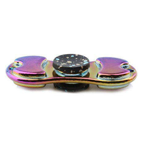 Alloy Colorful Finger Gyro EDC Toy Fidget Spinner - BLACK