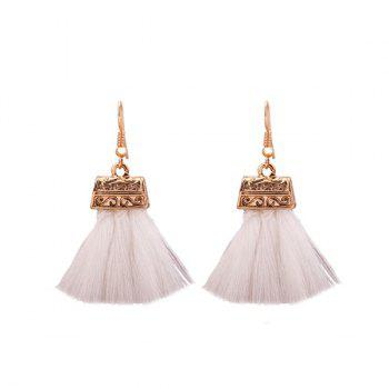 Tassel Alloy Drop Earrings