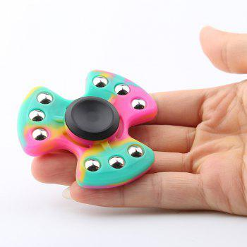 Nine-balls Colorful Silicone Fidget Spinner - COLORMIX COLORMIX