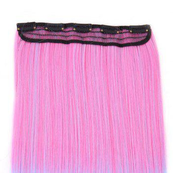 Clip In Short Straight Ombre Hair Extensions -  PAPAYA