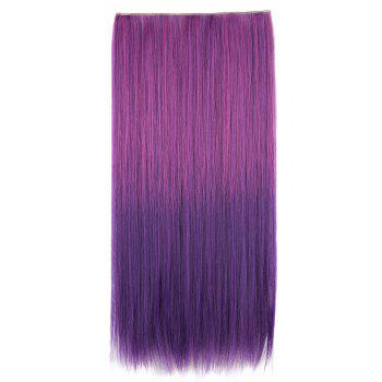 Clip In Short Straight Ombre Hair Extensions