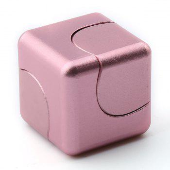 Focus Toy Alloy Fidget Cube Spinner - Or Rose