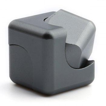 Focus Toy Alloy Fidget Cube Spinner - Gris