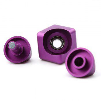 Focus Toy Alloy Fidget Cube Spinner -  PURPLE