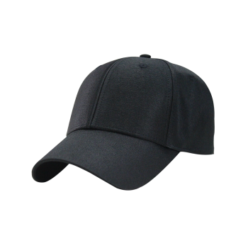 Outdoor Shimmer Adjustable Long Tail Baseball Cap -  BLACK