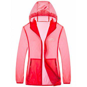 Hooded Zip Up UV-Protection Wear