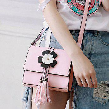 Tassels Flower Crossbody Bag