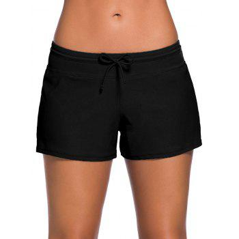 Drawstring Swimming Boyshort