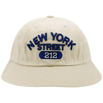 Number Letters Pattern Bucket Hat