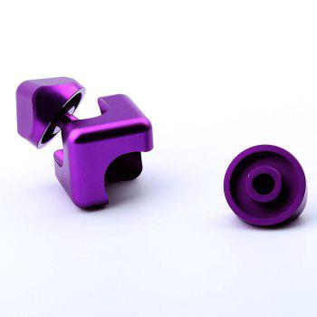 Alloy Fidget Spinner Novelty Magic Cube Stress Relief Toy -  PURPLE