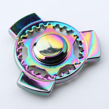 Stress Relief Rotation Time Long Fidget Spinner - COLORFUL 6*6*1.2CM