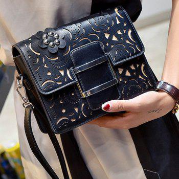 Rivet Laser Cut Crossbody Bag