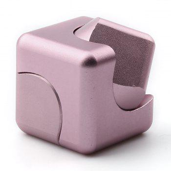 Focus Toy Alloy Fidget Cube Spinner - ROSE GOLD