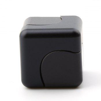 Focus Toy Alloy Fidget Cube Spinner - BLACK